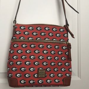 Dooney & Bourke Bags - University of Georgia hipster crossbody mail bag